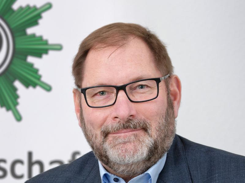Jörg Radek, Vitze-Vorsitzende der Gewerkschaft der Polizei